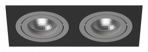 Встраиваемый светильник Lightstar Intero 16 double quadro i5270909