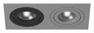Встраиваемый светильник Lightstar Intero 16 double quadro i5290709