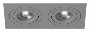 Встраиваемый светильник Lightstar Intero 16 double quadro i5290909