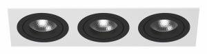 Встраиваемый светильник Lightstar Intero 16 double quadro i536070707