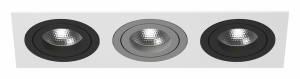 Встраиваемый светильник Lightstar Intero 16 double quadro i536070907