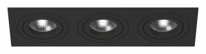 Встраиваемый светильник Lightstar Intero 16 triple quadro i537070707