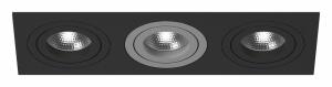 Встраиваемый светильник Lightstar Intero 16 triple quadro i537070907