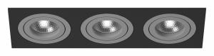 Встраиваемый светильник Lightstar Intero 16 triple quadro i537090909