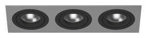 Встраиваемый светильник Lightstar Intero 16 triple quadro i539070707