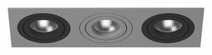 Встраиваемый светильник Lightstar Intero 16 triple quadro i539070907