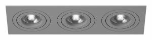 Встраиваемый светильник Lightstar Intero 16 triple quadro i539090909