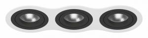 Встраиваемый светильник Lightstar Intero 16 triple round i636070707