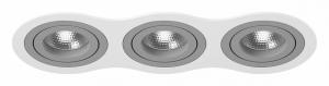 Встраиваемый светильник Lightstar Intero 16 triple round i636090909