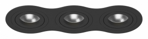Встраиваемый светильник Lightstar Intero 16 triple round i637070707