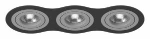Встраиваемый светильник Lightstar Intero 16 triple round i637090909
