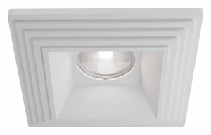 Встраиваемый светильник Maytoni Gyps DL005-1-01-W