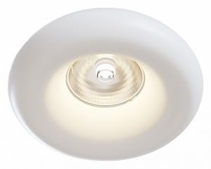 Встраиваемый светильник Maytoni Gyps DL006-1-01-W