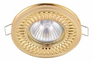 Встраиваемый светильник Maytoni Metal DL301-2-01-G