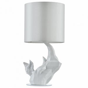 Настольная лампа декоративная Maytoni Nashorn MOD470-TL-01-W