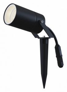 Наземный низкий светильник Maytoni Scope O025FL-01B