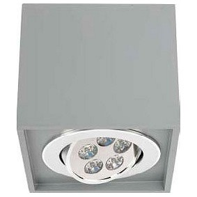 Накладной светильник Nowodvorski Box Led Gray 9630