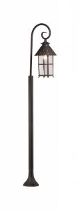 Наземный высокий светильник Odeon Light Lumi 2314/1F