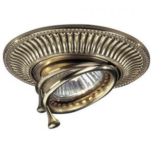 Встраиваемый светильник Reccagni Angelo 1082 SPOT 1082 ORO