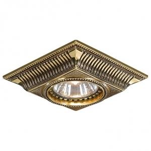 Встраиваемый светильник Reccagni Angelo 1084 SPOT 1084 ORO